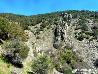 Valle de la Pizarra y los Brajales - Cebreros; rutas de toledo cueva de montesinos embalse de navace